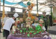 龐各莊鎮舉行第二十七屆北京大興西瓜節 甜美生活行西瓜創意美食大賽
