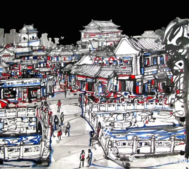 手绘版《来北京,我用四季等你》[墙根网]