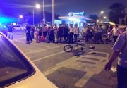 宣武门一奥迪车连撞12人逃逸 疑为五旬女司机