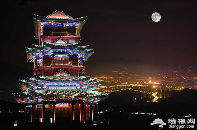京城有多大 那些能看到北京全景的地方[墙根网]