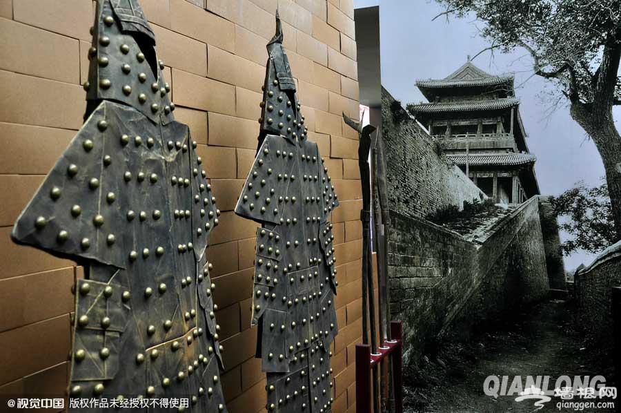 """首都博物馆上演""""追寻历史上的北京城池""""[墙根网]"""