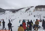 崇禮滑雪場營業 北京人來玩的居多