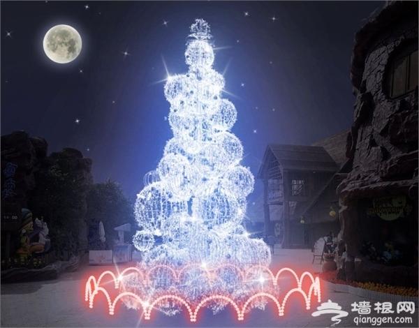 2015广州国际灯光节 暗夜中的美丽[墙根网]
