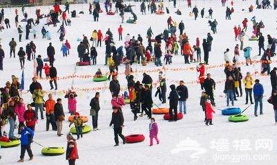 2015圣泉山冰雪嘉年华即将对外开放
