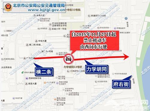 长安街二环路今后外地车禁行