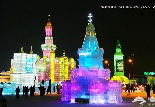 神奇的哈尔滨冰雪大世界是怎么建成的?