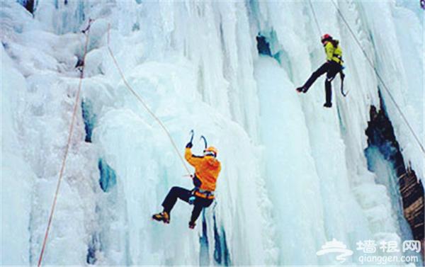 北京房山冬季游 金祖山景区首届冰雪节开幕[墙根网]