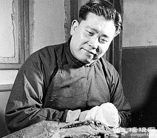 北京烤鸭七十年前是这么吃的[墙根网]