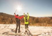 2016元旦節崇禮冰雪山地馬拉松