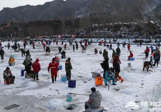 京郊延庆珍珠泉开辟冰上活动填补冬季旅游空白