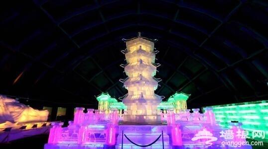 2016元旦去北京鸟巢看冰雕展 堪比哈尔滨的冰雪大世界[墙根网]