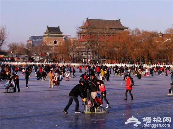 北京七大冰场热闹似庙会 野冰场有危险要当心[墙根网]
