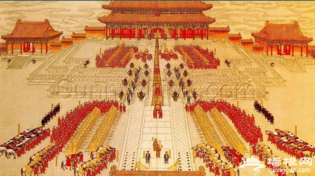 故宫里的洞房:皇帝皇后的新婚之夜在这里度过[墙根网]