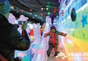 2016第三十届龙庆峡冰灯艺术节 冬奥雪雕亮相延庆