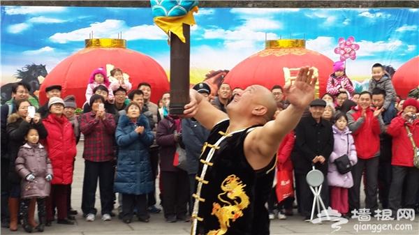 2016年第八届八大处公园新春祈福庙会[墙根网]