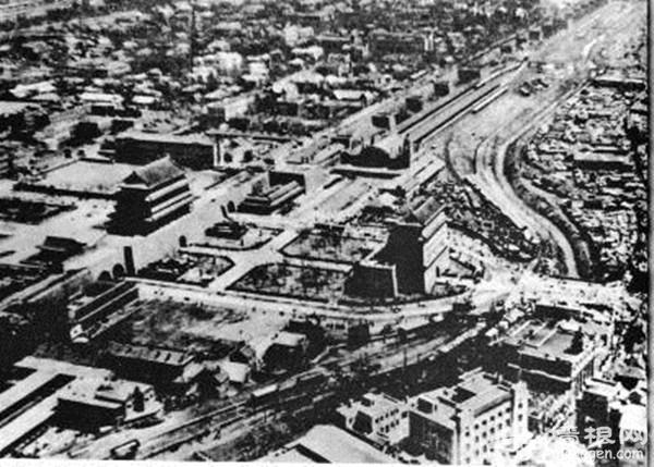 民国北京城经历四次大改造:打通皇城到长安街通道[墙根网]