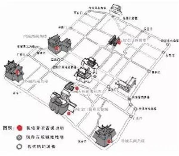 """为什么北京城是""""凸""""字型?[墙根网]"""