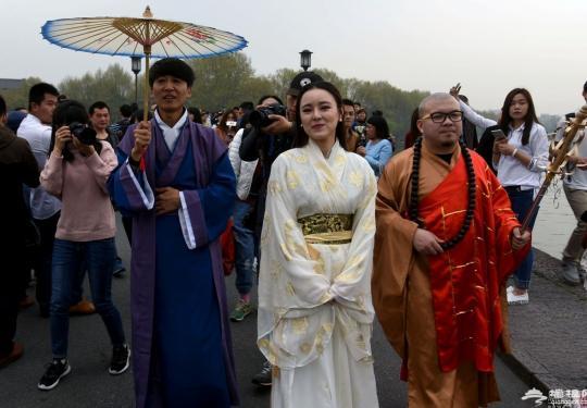 北京游客扮
