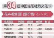 2016第34届洛阳牡丹文化节实用赏花攻略