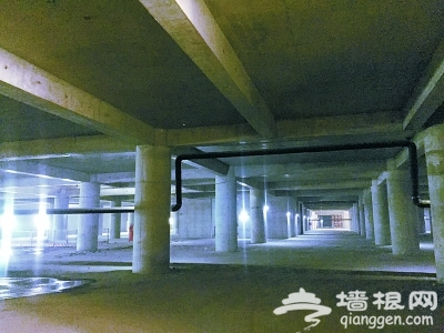 北京CBD北部地下环廊建成[墙根网]