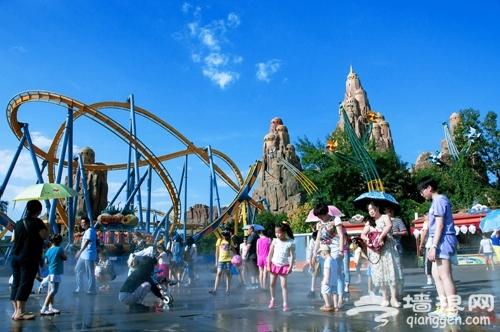 六一儿童节 带着小朋友去游乐园乐翻天