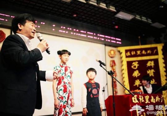 老北京还在 子弟八角鼓票房重现京城