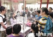 天博自博迎来节日参观高峰 端午节博物馆欢乐多