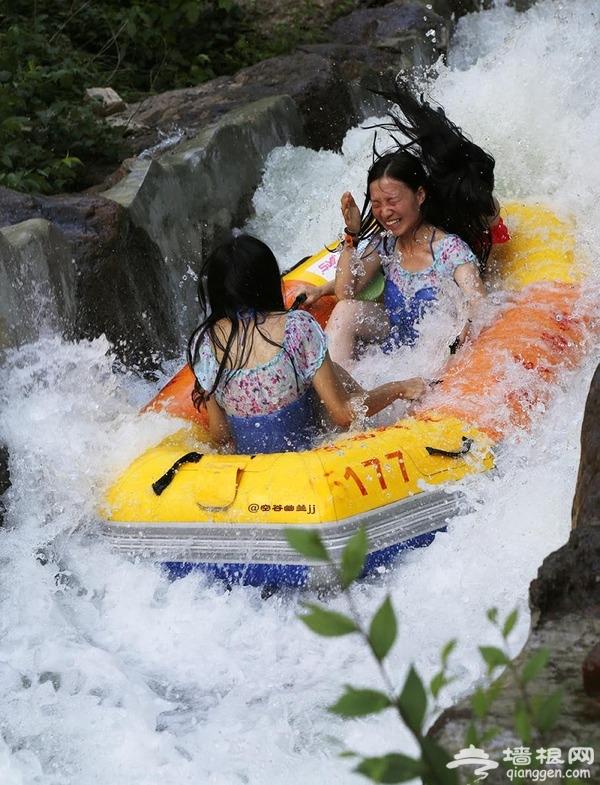 北京雾灵西峰高山滑水游记攻略 夏天来一场巅峰漂流![墙根网]