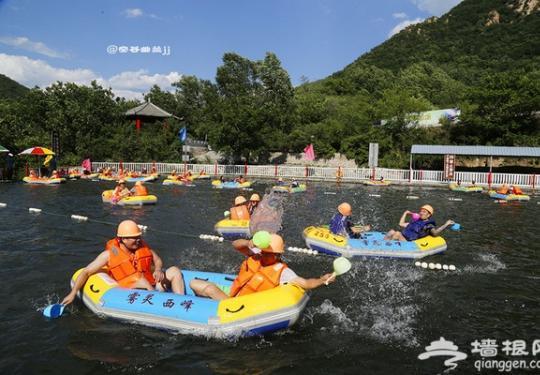 北京雾灵西峰高山滑水游记攻略 夏天来一场巅峰漂流!