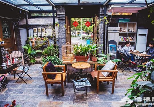 沐茗咖啡 与猫咪嬉戏的慵懒咖啡小院