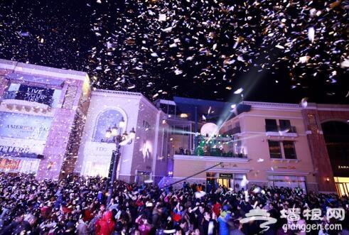 蓝色港湾第九届灯光节 城市中心的狂欢