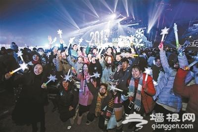 首屆北京冰雪文化旅游節同時開啟 30萬張廟會門票免費對市民發放