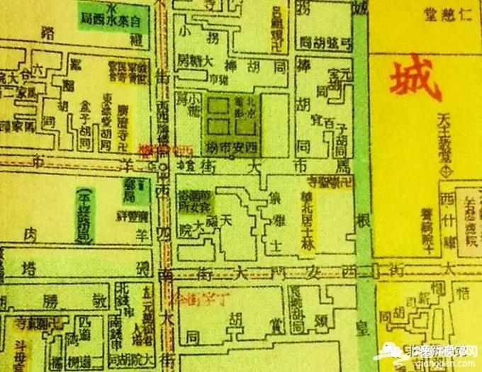 """盘点北京那些以""""鸡""""命名的街巷地名[墙根网]"""