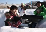 120米長滑雪場陶然亭開放 不出二環就能享冰雪歡樂