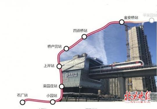 """S1线:北京的首条""""磁悬浮""""来啦 """"贴地飞行""""在门头沟山间"""