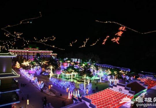 2019龙庆峡第33届冰灯艺术节1月15日正式开幕