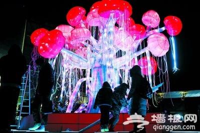 北京欢乐谷2018年奇幻灯光节正式开幕