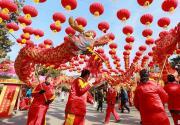 第五屆八大處新春祈福廟會于大年初一開門迎客