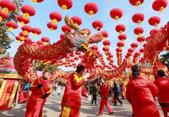 第五届八大处新春祈福庙会于大年初一开门迎客