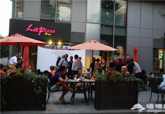 在La Pizza一次品尝到了4位米其林主厨的手艺