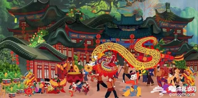 今儿正月十五,原来老北京是这样过元宵节的![墙根网]