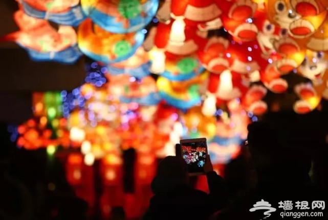 元宵节来啦,我们收集了一些美呆的上海元宵灯会[墙根网]