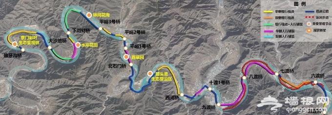 北京25.7公里休闲廊道年底亮相 十渡景区这四处核心景点将被打通