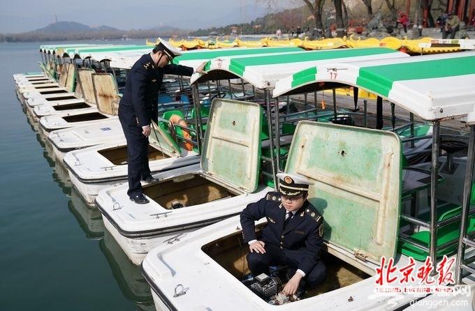 北京颐和园游船预计周三开航 风力大于4级时段停止出船[墙根网]