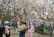 网友公园偶遇李小璐与甜馨 母女俩玩得很开心