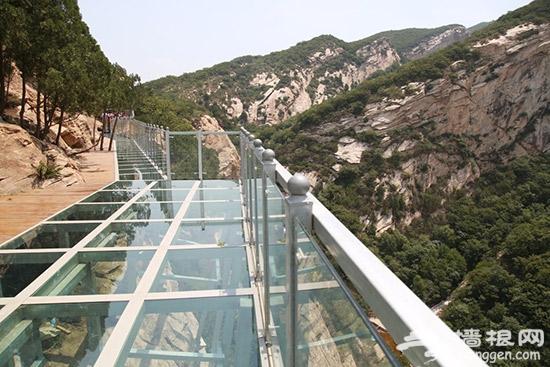 清明假期北京清凉谷风景区玻璃栈道免费开放[墙根网]