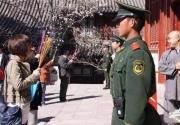 唯一一个由武警站岗的寺庙,比少林寺还霸气