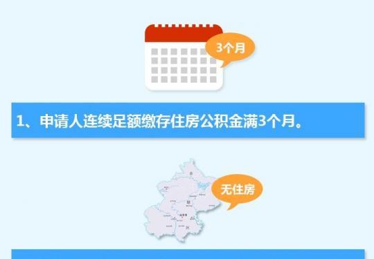 北京首次租房提取公積金申請條件資料辦理流程指南