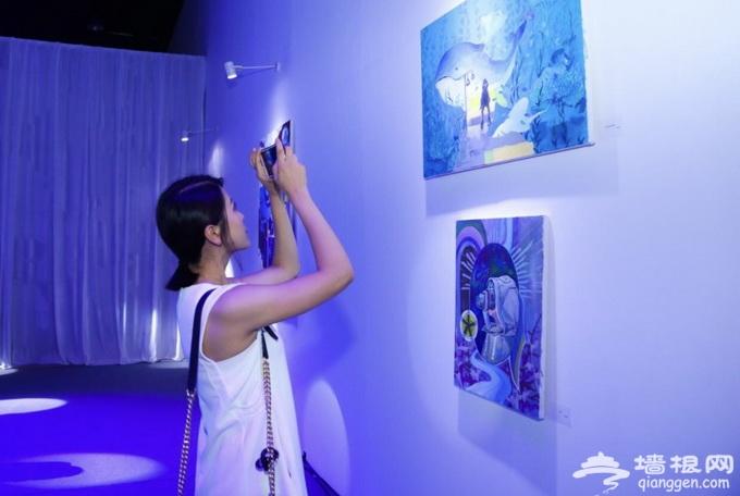 """京东""""云画展""""首次在京开展 本周末免费对公众开放[墙根网]"""