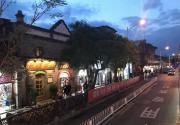 北京特11路公交车跨越东西长安街 最美夜景线路名副其实